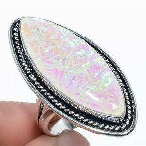 🦋Gorgeous🦋 Australian Triplet Opal Ring SZ 9